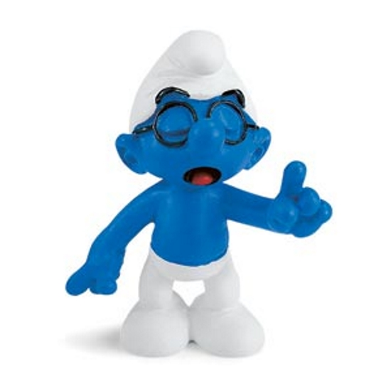 Brainy Smurf Vinyl Figure