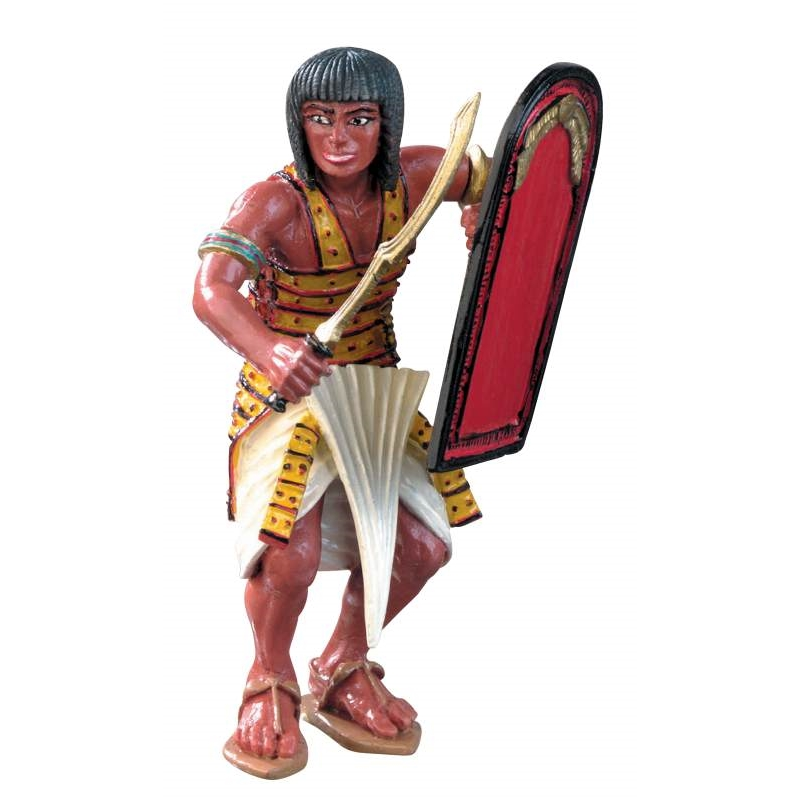Ancient Egyptian w/Shield Vinyl Figure