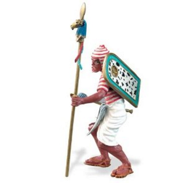 Ancient Egyptian w/Staff Vinyl Figure