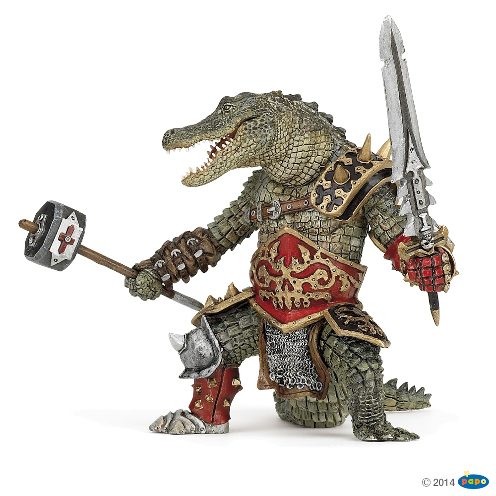 Crocodile-Man Vinyl Figure