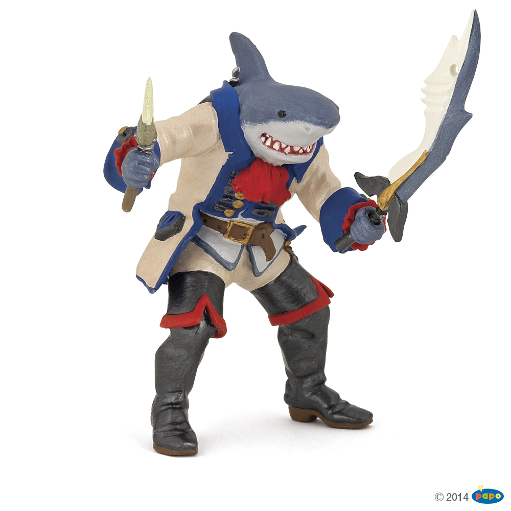 Shark-Pirate Vinyl Figure