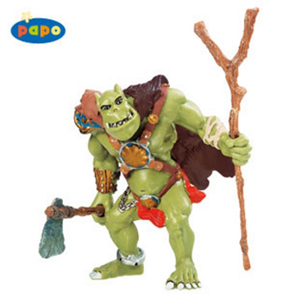 Orc with Axe Vinyl Figure