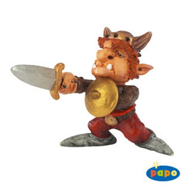 Troll with Sword Vinyl Figure