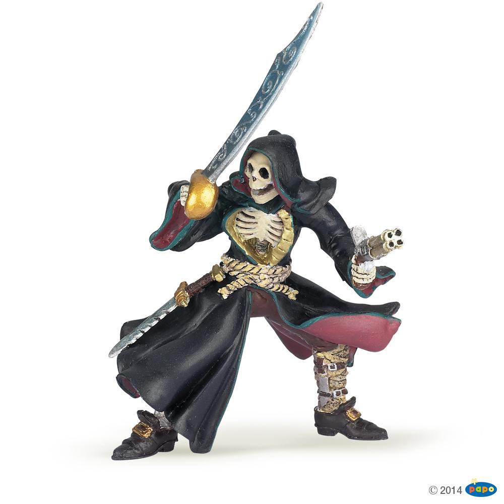 Skull Face Pirate Vinyl Figure