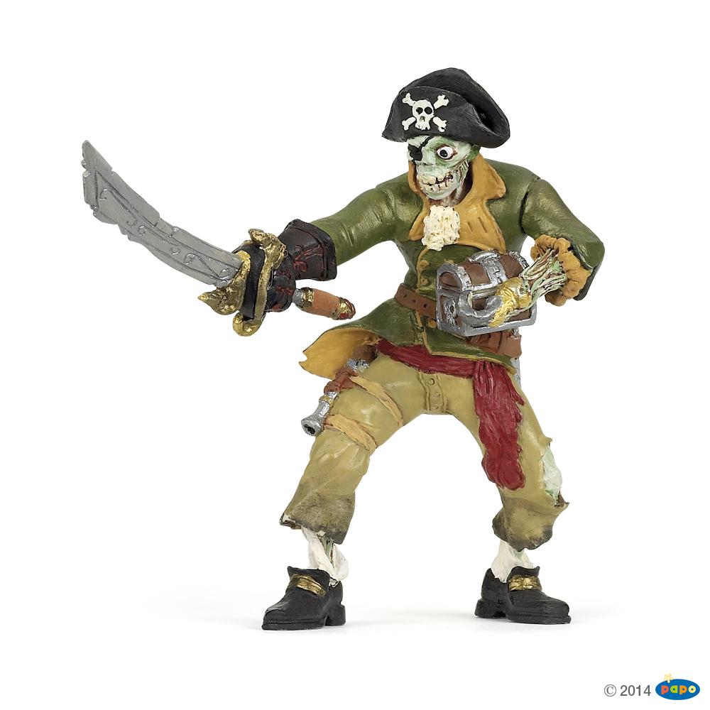 Zombie Pirate Vinyl Figure