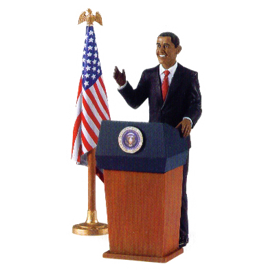 President of the United States Set Vinyl Figure