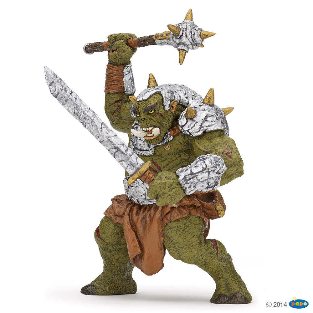 Giant Orc with Sabre Vinyl Figure