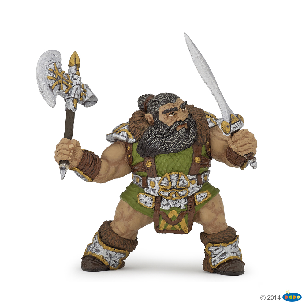 Dwarf Warrior with Axe Vinyl Figure